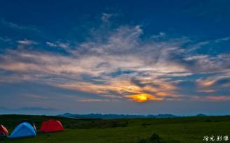美丽的大草原风景图片